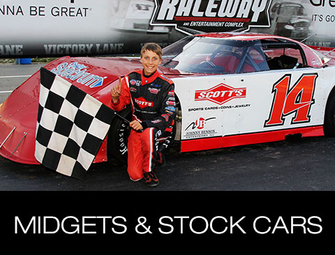 Midget and Stock Cars
